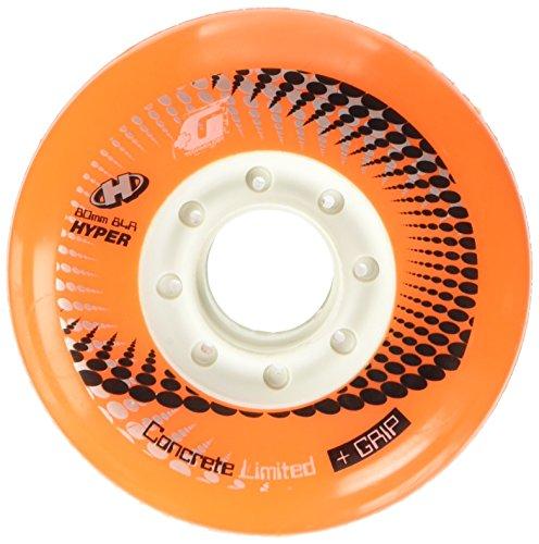 Ruedas para patines en línea, 80 mm (Naranjas)